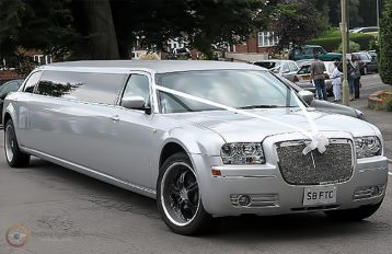 Baby Bentley Limo Silver Limo hire Baby Bentley Limo Silver
