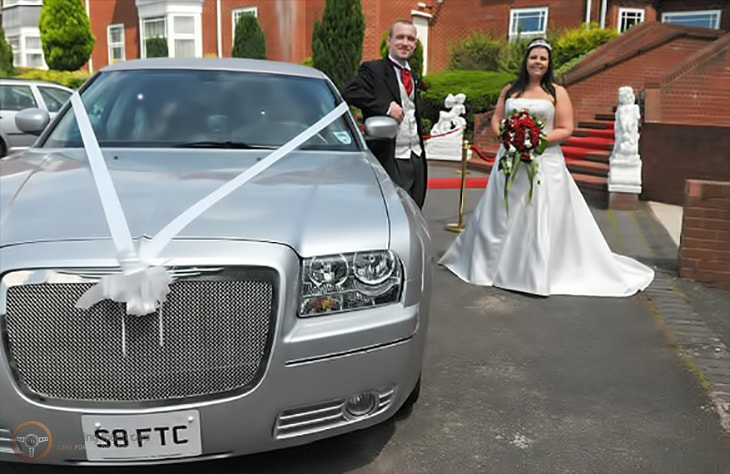 Baby Bentley Limo Silver