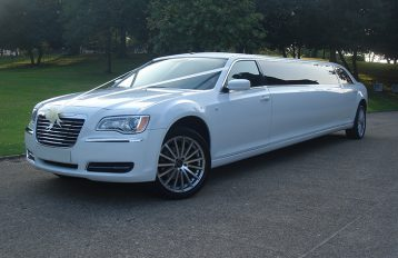 Chrysler 300 aka Baby Bentley Limo Limo hire Birmingham
