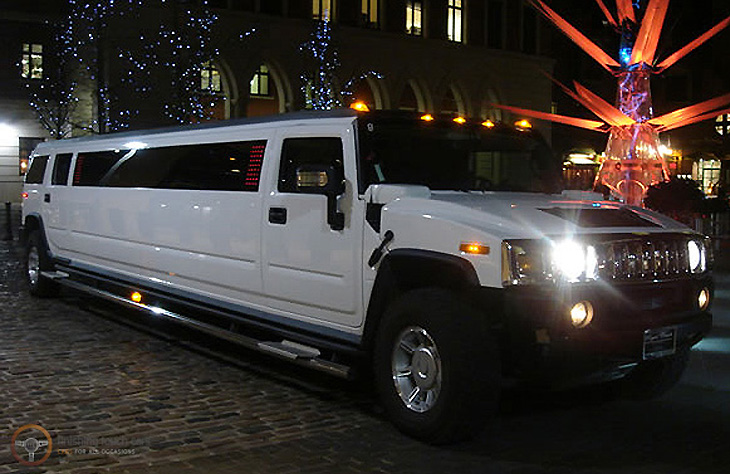 H2 White Hummer