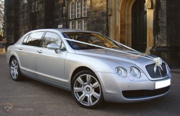 Bentley Flying Spur Silver Party Bus hire Birmingham
