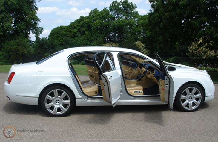 Bentley Flying Spur White