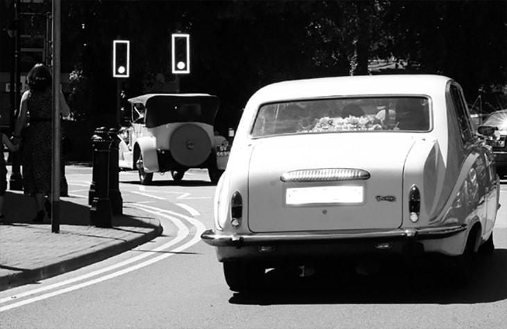 Daimler Limousine Silver