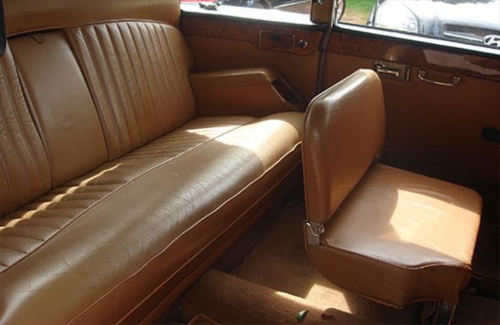 Daimler Limousine White