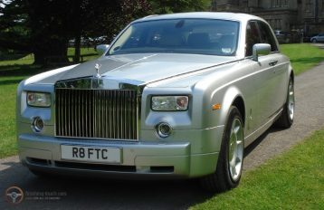 Rolls Royce Phantom Silver Party Bus hire Birmingham