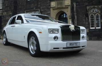 Rolls Royce Phantom White Party Bus hire Birmingham