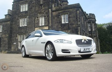 Jaguar XJ LWB Party Bus hire Birmingham